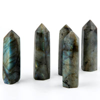 Madagascar Labradorite Point - Flash color will vary