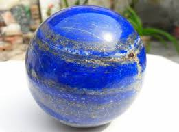 Small Lapis Lazuli Sphere with Stand
