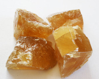 Rough Brazilian Honey Calcite