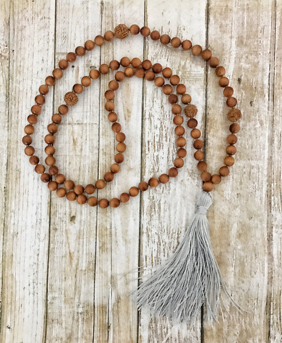 Create Your Own Mala Necklace Workshop Saturday, May 5, 2018 10:30am-12:00pm