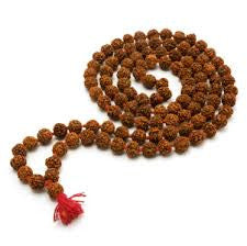 Rudraksha Mala Bead Necklace