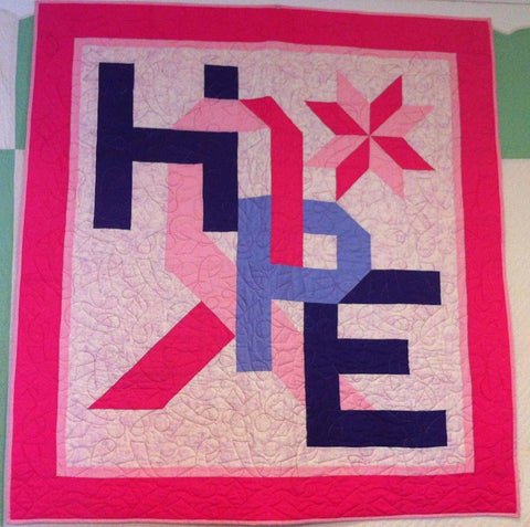 Cancer Hope Quilt