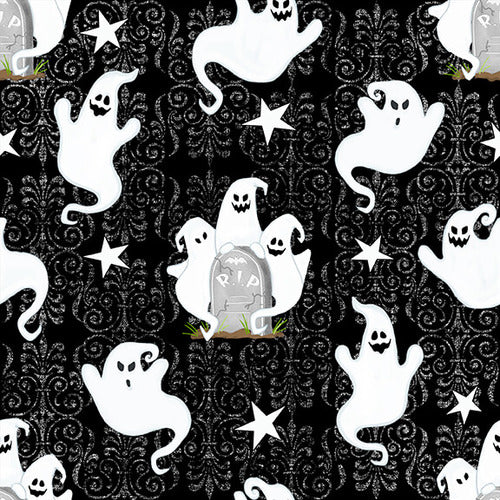 Ghostly Glow Town Black Ghost