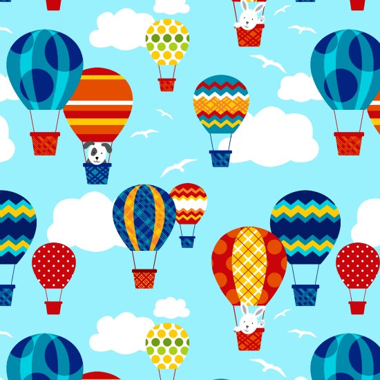 Off We Go- Balloons