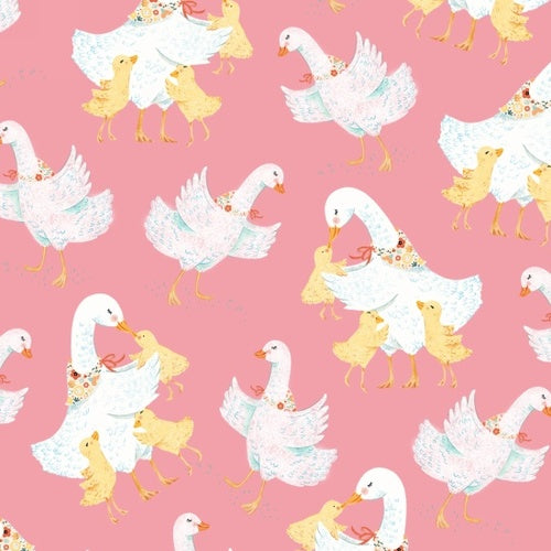 Ducky Tales- Pink