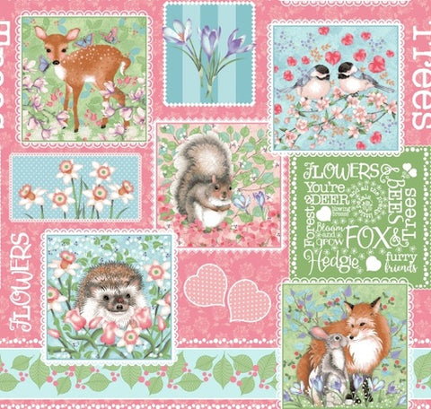 Forest Friends- Patchwork