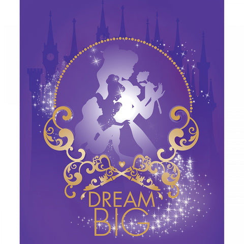 Princess Heart Strong - Dream Big Panel