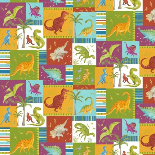 Dino Party Patchwork