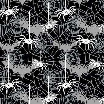 Boo Crew- Bats & Spiders Glow in the Dark