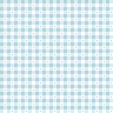 Gingham - Cloud Blue