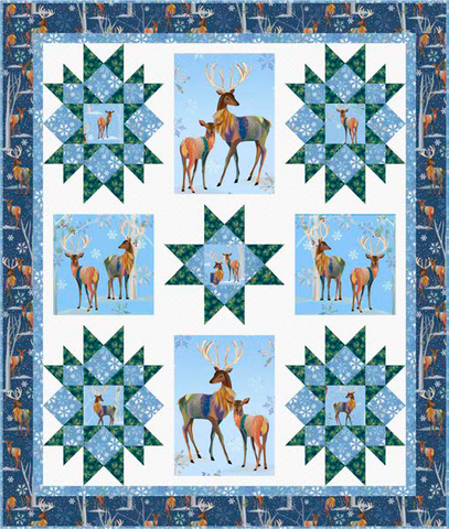 Winter Stars Quilt Kit