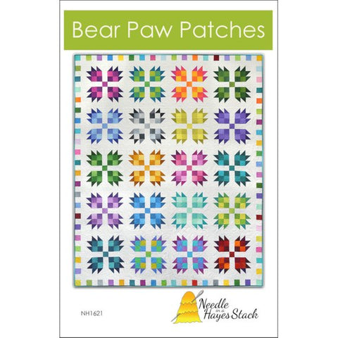 Bear Paw Patches Pattern