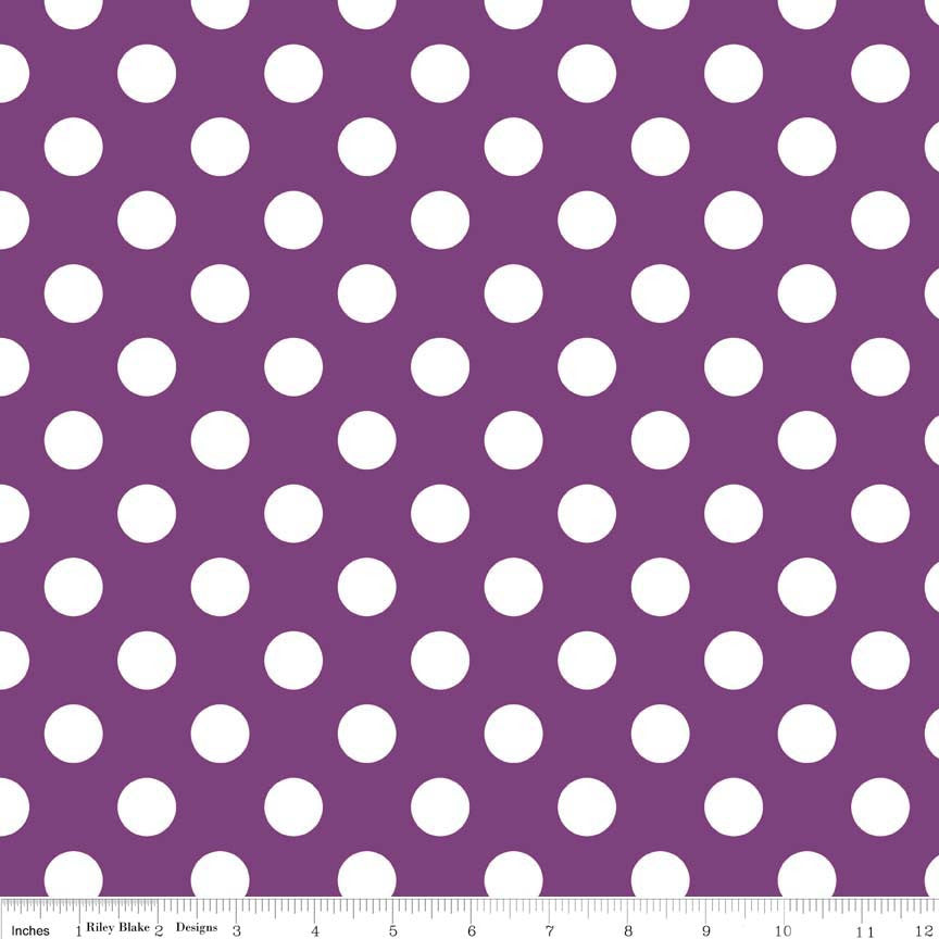 Medium Dots- Purple