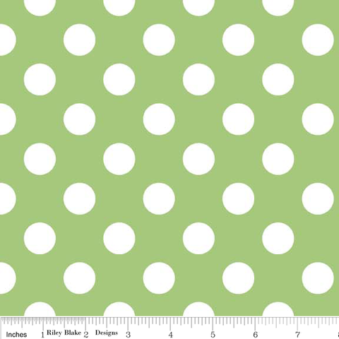 Medium Dots- Green