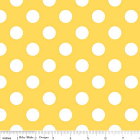 Medium Dots- Yellow