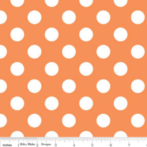 Medium Dots- Orange