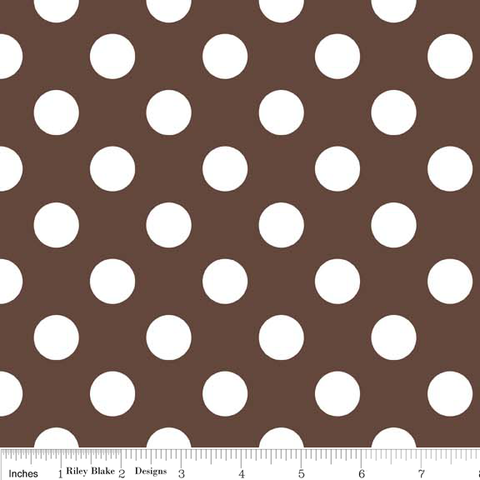 Medium Dots- Brown