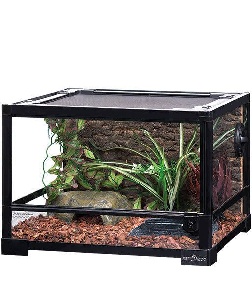 "REPTIZOO - Reptile Glass Terrarium - Single Hinge Door - 18"" x 18"" x 12"" (RK0116S)"
