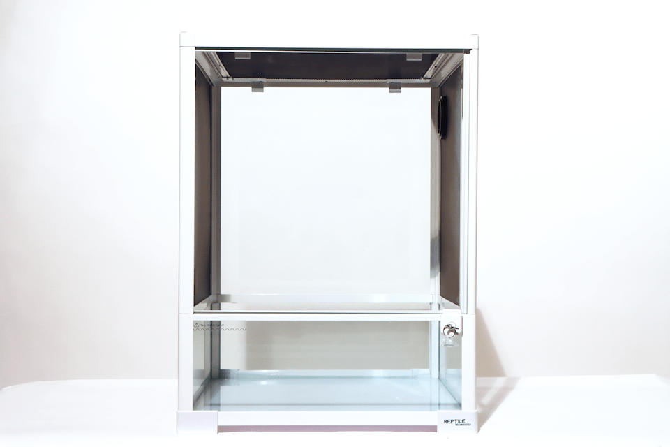 "Reptile Technology - Reptile Glass Terrarium - Single Hinge Door - 18"" X 18"" X 24"" (RK0110NSW)"
