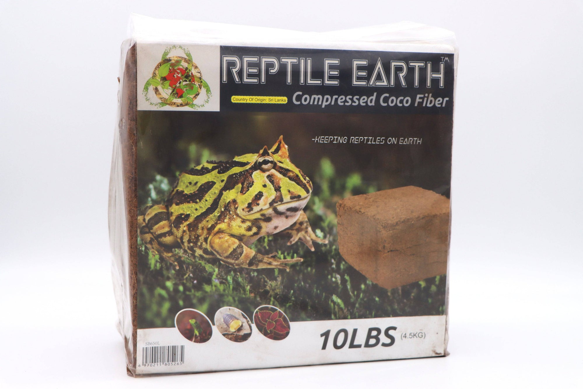 Reptile Earth - Coco Fiber Compressed 10lb Block