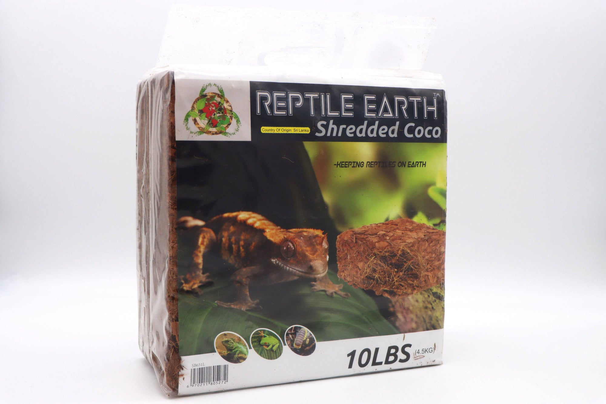 Reptile Earth - Shredded Coco Compressed 10lb Block