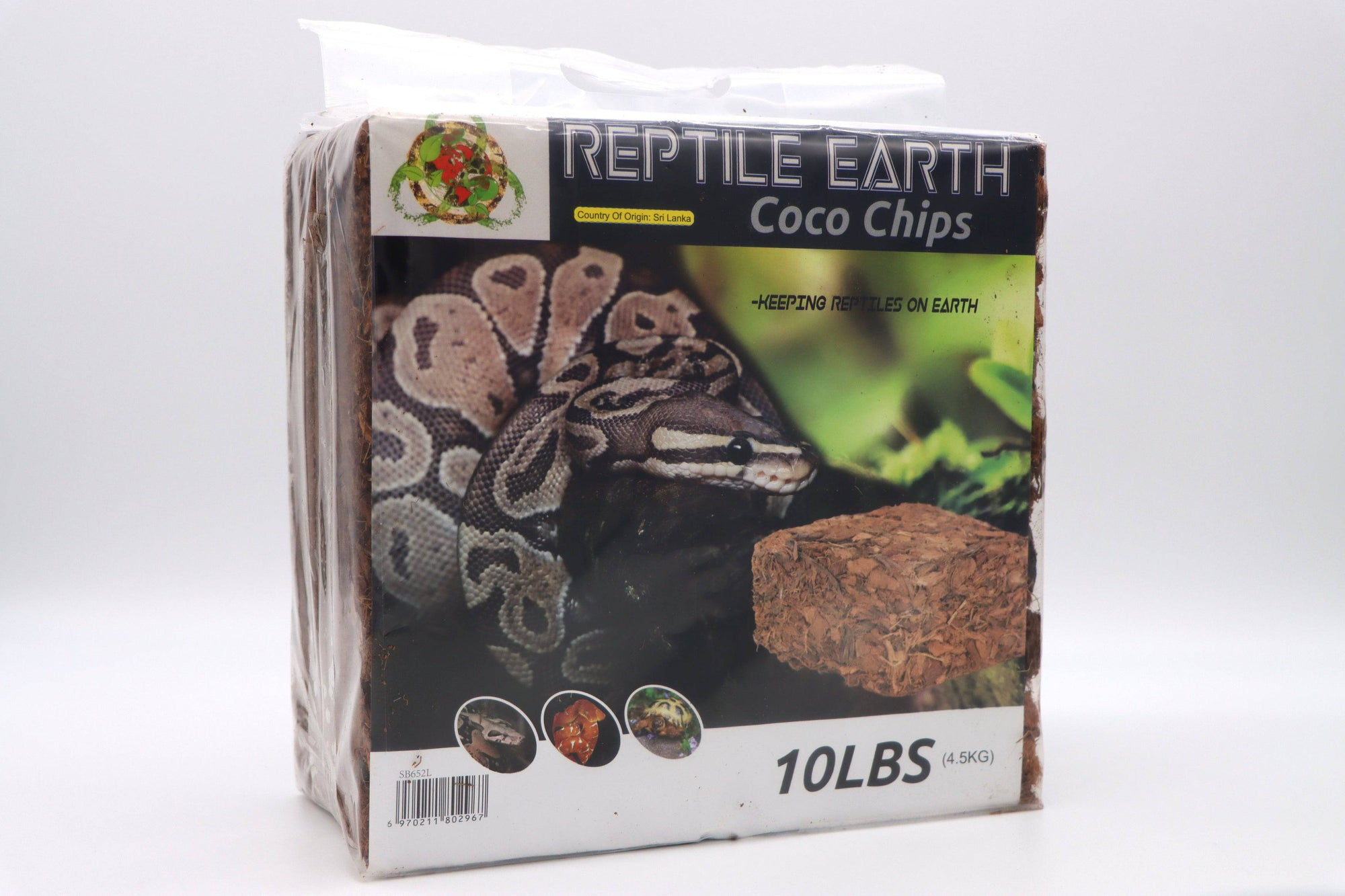 Reptile Earth - Coco Chip Compressed 10lb Block