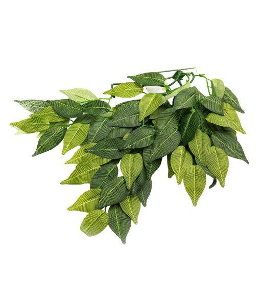 "REPTIZOO - Terrarium Decoration - Terrarium Plant - Banyan Leaves - L (TP002 20"")"