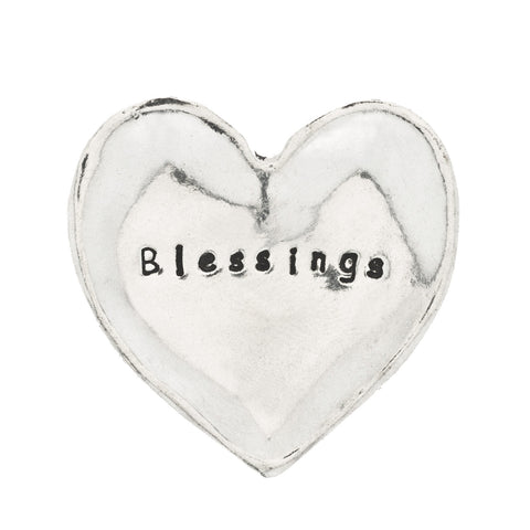 Blessings Small Pewter Trinket Dish