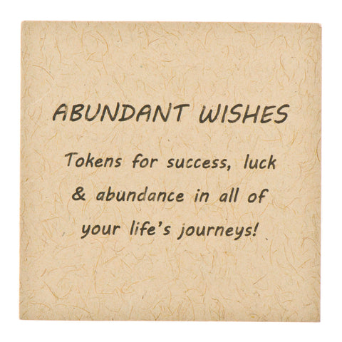 Abundant Wishes Pewter  Charms