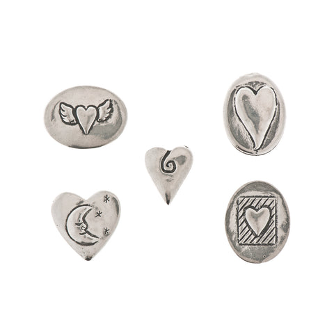 Love Pewter Charms