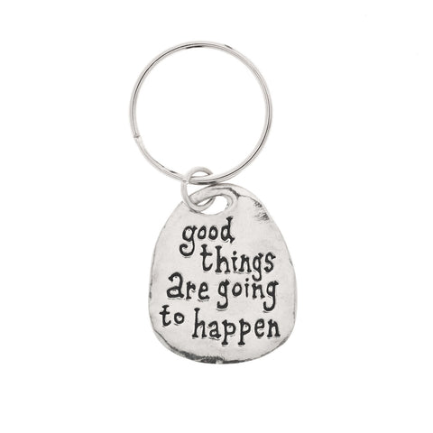 Good Things Pewter Key Ring