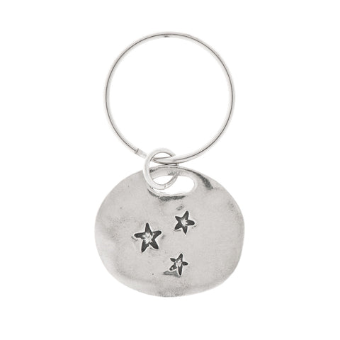 Chase Your Dreams Pewter Key Ring