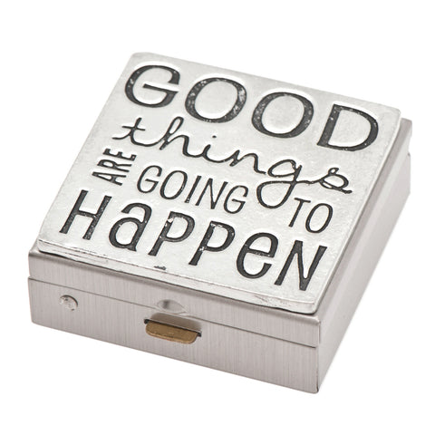 Good Things Pewter Pill Box