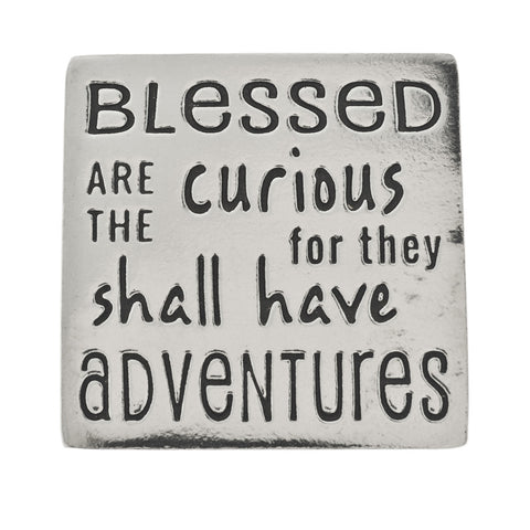Adventure Small Pewter Plaque