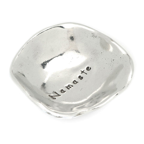Namaste Small Pewter Trinket Dish