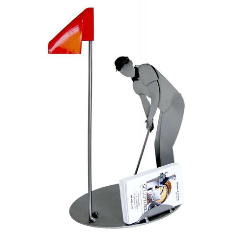 Golf Player Business Card Holder