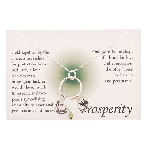 Prosperity Charm Necklace