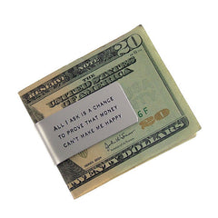 All I Ask Money Clip