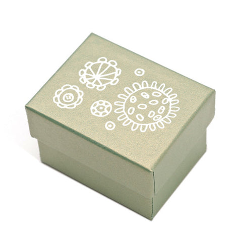 Cosmic Pewter Business Card Holder Gift Box