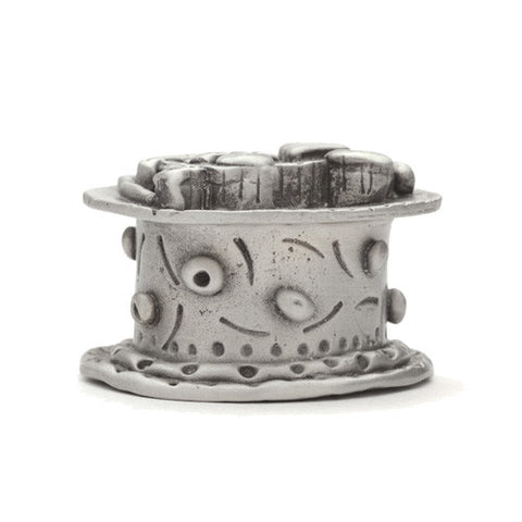Fire Engine Pewter Tooth Fairy Box