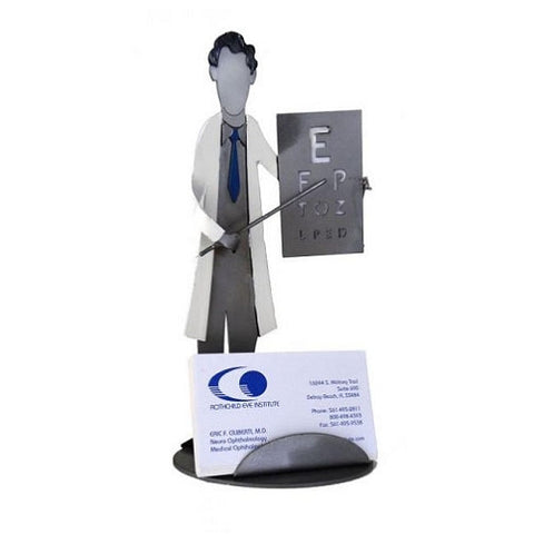 Eye Doctor Business Card Holder - Man