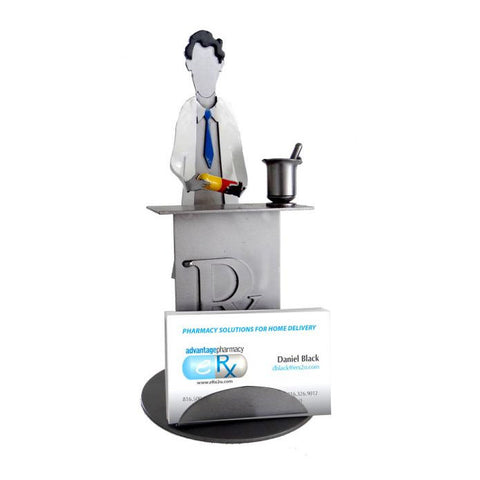 Pharmacists Business Card Holder - Man