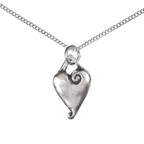 Willing Heart Treasure Box & Heart Necklace Set