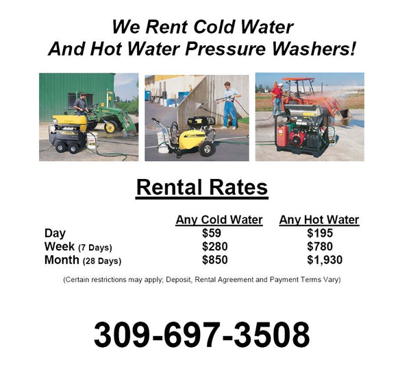 Rental Information, Picture Format - Call 309-697-3508 for more information.