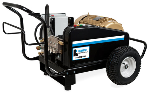 Hanson Premium Series Electric Portable Belt Drive Cold Water Pressure Washer