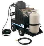 Hanson DHL Series Portable LP Belt Drive Hot Water Pressure Washer