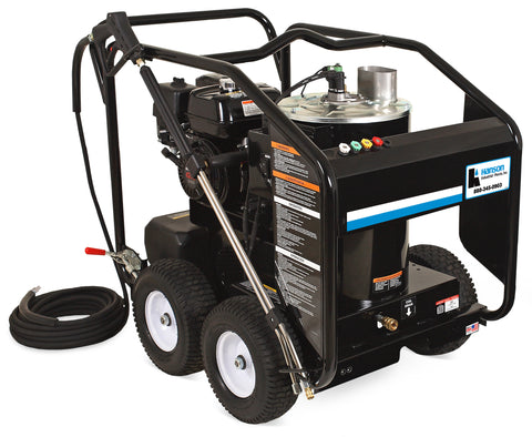 Hanson DHS Series Portable Gasoline Direct Drive Hot Water Pressure Washer