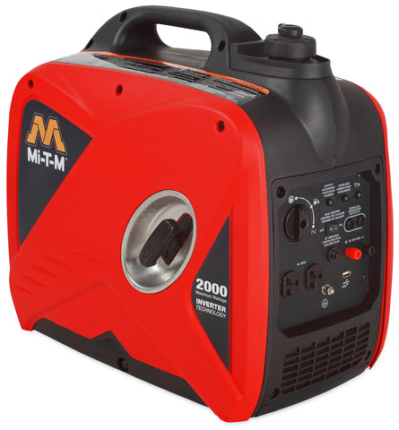 Hanson 2000 and 3000 Watt Gasoline Inverter Portable Generators