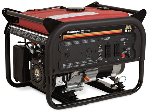 ChoreMaster Series 3600, 6000 and 8000-Watt Gasoline Generators