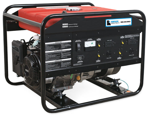 Hanson 6000, 7500 and 8000-Watt Gasoline Generators